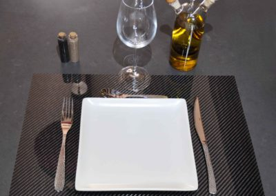 Sets de table carbone