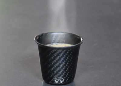 Coffee cup carbon fiber